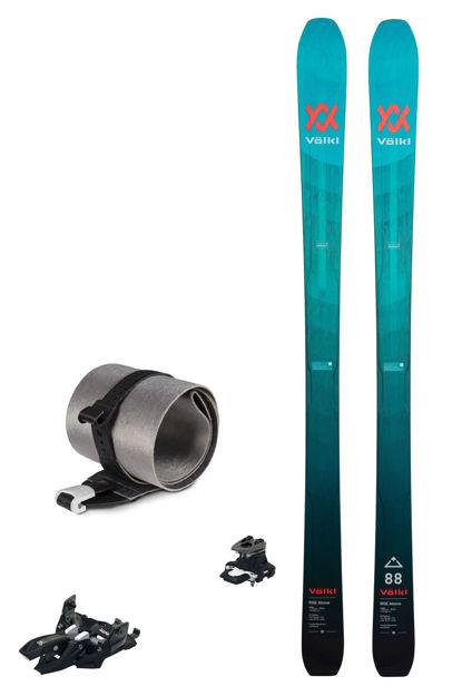 Bild von Set - Völkl - Rise Above 88 (Flat) + Rise Above Skin + Marker Alpinist 10