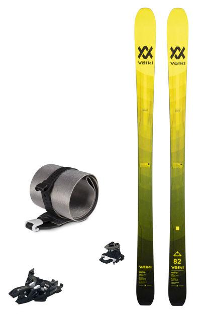 Picture of Set - Völkl - Rise Up 82 (Flat) + Rise up Skin + Marker Alpinist 10